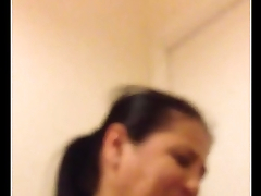 Dumb arab mum sucking and fucking my young fat dick pt.2