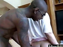 Loving Interracial Sex Milf (mellanie monroe) Ride Black Monster Cock mov-26