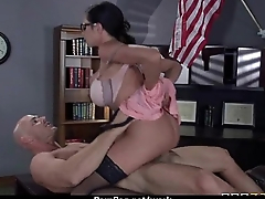 Hot big-boob office slut fuck boss'_ big-dick 14