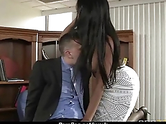 Hot babe fucked at the office 8