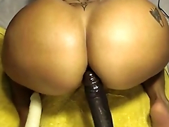 Spicy J big ass doing anal on sexydatingcams.com