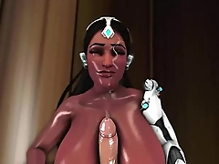 Overwatch New Symmetra Highlight Intro