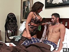 WANKZ - Balls Deep In Stepmom!