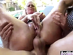 (alena croft) Big Ass Oiled Wet Girl Love Anal Sex vid-03
