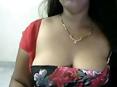 Sweety Aunty with Big Tits on Cam 9
