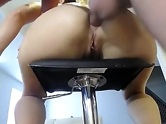girlse Fuck my asshole at the kitchen. Follow... - Older Wom