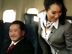 Kinky Flight Hostesses In Amazing Airplane Group Fucky-fucky