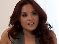 Horny Kaylani Lei gets will not hear of Asian cunt fucked hard and deep