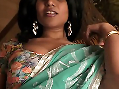 Busty Desi Indian MILF Sucks Horseshit