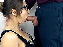 Teen Sloppy Deepthroat and  Cum Swallow!