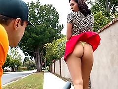 Leaf Blow Him Featuring Bella Rolland - Reality Kings HD