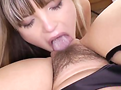 Brit milf fingered by schoolgirl in uniform