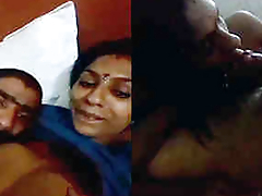 desi couple boobs suck blowjob and fuck