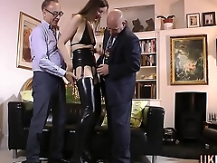 Older stockings brit fuck