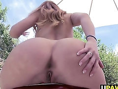 All natural big ass girl Karlie Montana fucked