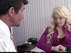 Big Titted Sob sister Fucks At The Office 17